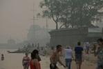 Специалисты: дым в Петербург занесен из центральных регионов: Фоторепортаж