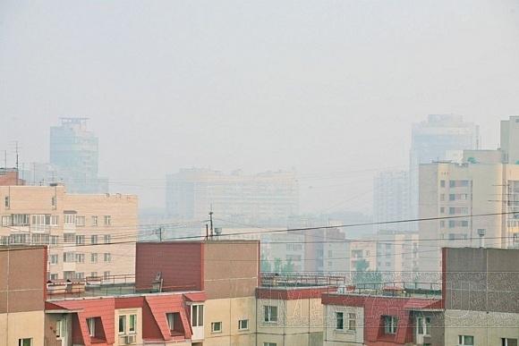 Специалисты: дым в Петербург занесен из центральных регионов: Фото
