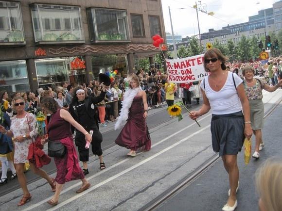 Как я попала на гей-парад: Фото