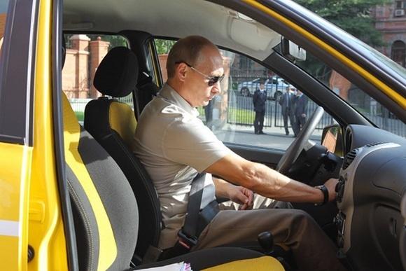 Путин проедет по трассе Чита – Хабаровск на «Ладе Калине»: Фото