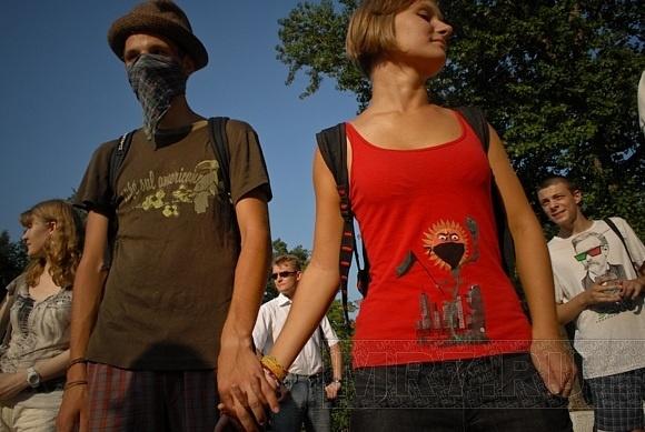 Защитники Химкинского леса собрались в Петербурге: Фото