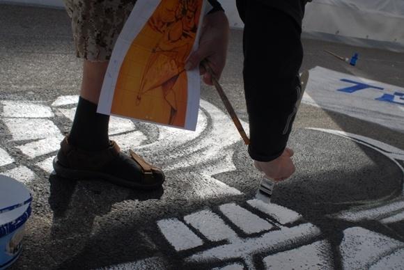 Граффитчики показали высокотехнологичные чудеса на Крестовском острове (фоторепортаж): Фото