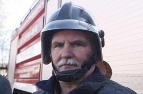 Парашютистке помогли пожарные