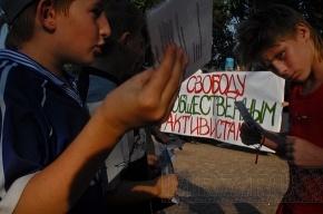 Защитники Химкинского леса собрались в Петербурге