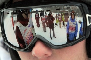 Петербургские горнолыжники улетели от жары