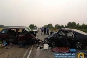 В ДТП погибли пятеро, еще восемь пострадали