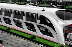 В Китае изобретен автобус, избавляющий от пробок