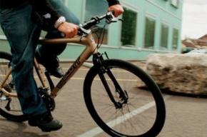 Велосипедисты ограбили девушку