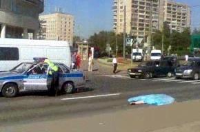 На углу Бухарестской улицы и проспекта Славы - ДТП со смертельным исходом
