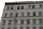 На Лиговском обваливается дом, движение перекрыто: Фоторепортаж