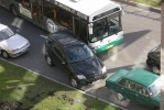 ДТП парализовало движение по улице Одоевского: Фоторепортаж