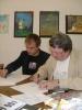 Фоторепортаж: «Выставка петербургских карикатуристов проходит во Франции»