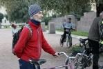 Петербуржцы ездят без горючего: Фоторепортаж