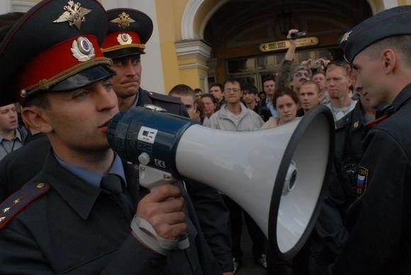31 августа в Петербурге задержали 90 оппозиционеров: Фото