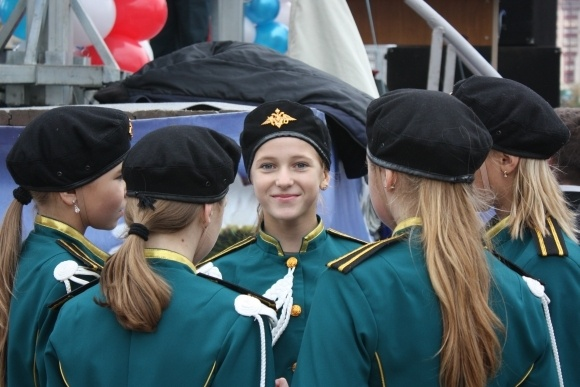 В Петербурге пожарные устроили праздник: Фото