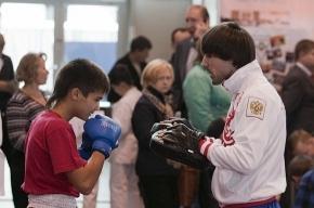 Акцию «Выбираю спорт» посетило 32 600 петербуржцев