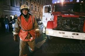 В Петербурге горел ювелирный магазин