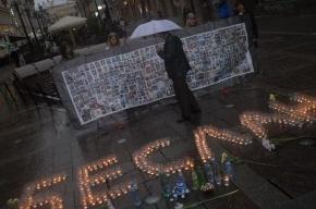 В память о трагедии в Беслане: 334 свечи и бутылки с водой