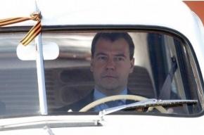 Сегодня Медведев и Янукович прокатятся на собственных авто