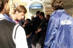 В Москве автомобилисты побили «нашистов»