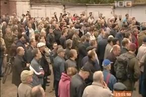 В Петербурге митинговали владельцы гаражей