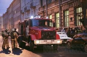 На Миллионной улице горела квартира