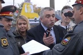 Милиция не дала провести акцию с «запасным премьером»