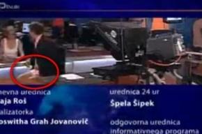 Ведущий новостей появился в прямом эфире без штанов