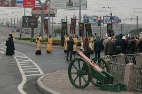 Петербуржцы почтили память Александра Невского