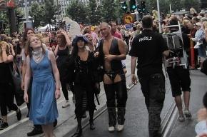 В честь дня рождения мэра геи организовали акцию «Лужков-гомик»