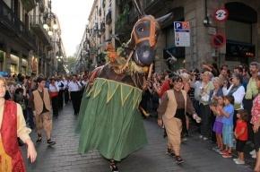 Сегодня в Барселоне - грандиозный праздник