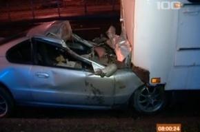 «Хонда» влетела в автобус на Просвещения, погиб водитель