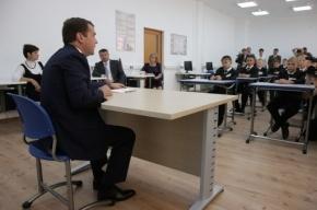 Медведев отрыл первое президентское кадетское училище