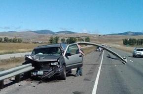 Водитель спал, а машина стала шашлыком
