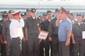 Милиционеры отправили на пенсию главного охранника