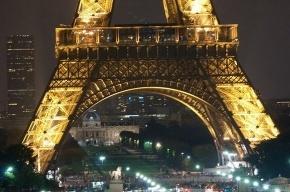 Вчера вечером в центре Парижа был переполох