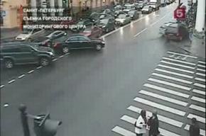 В центре Петербурга сбиты три пешехода