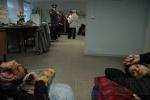 Голодовка дольщиков: из десяти человек четырех увезли на «скорой»: Фоторепортаж