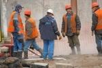 Фоторепортаж: «Более 20 домов из-за аварии в Петербурге - вновь без тепла»