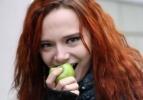 Сто килограммов яблок против курения: Фоторепортаж