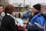 Дворников Адмиралтейского района осмотрели: Фоторепортаж