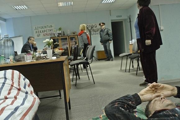 Идет седьмой день голодовки обманутых дольщиков дома по проспекту Пятилеток, 13: Фото