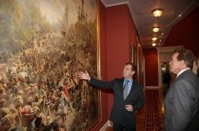 Медведев предложил Шварценеггеру пост мэра Москвы