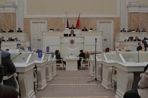 Депутаты ЗакСа поднимают зарплату себе и чиновникам Смольного