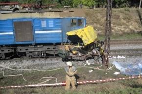 На Украине поезд протаранил автобус: 37 человек погибли
