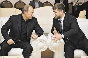 Кадыров: Люблю Путина, как мужчина мужчину