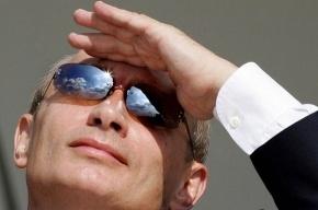 Журналисты увидели у Путина синяк под глазом