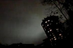 Светопредставление в Купчино – видео от очевидца