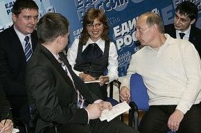 На Невском покажут «живого Путина»
