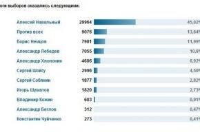 Мэром Москвы избран блогер Навальный
